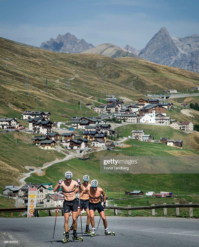 Norwegian Biathlon Altitude Training Camp