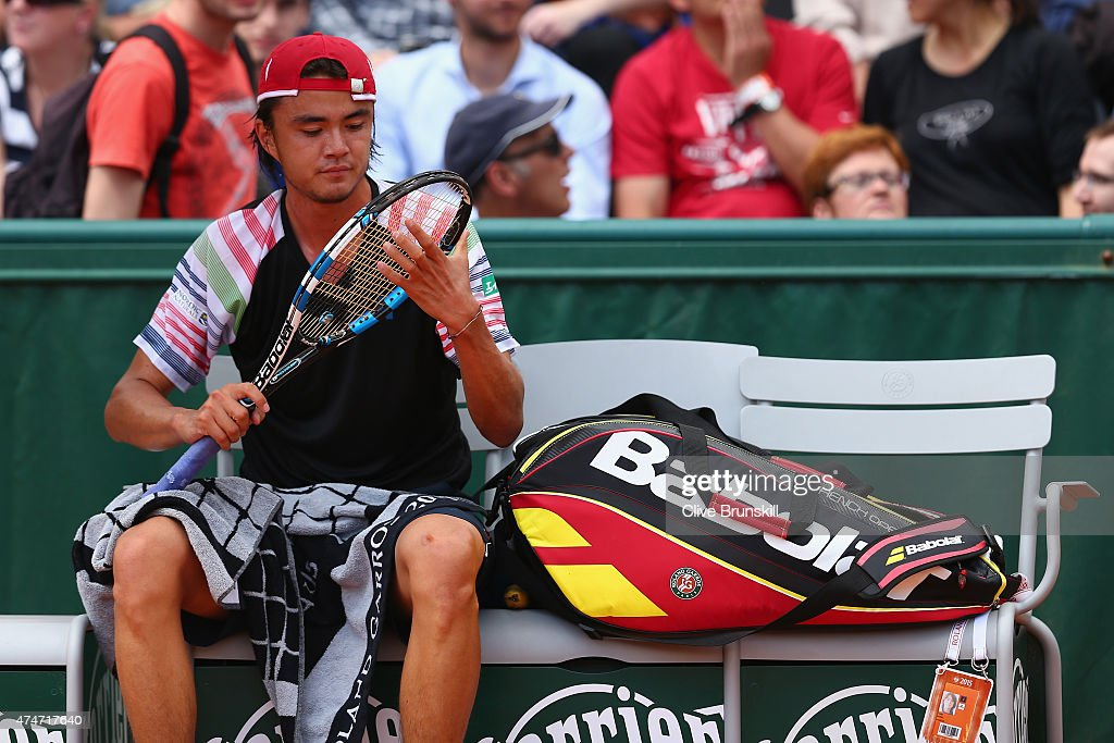 2015 French Open - Day Two : News Photo