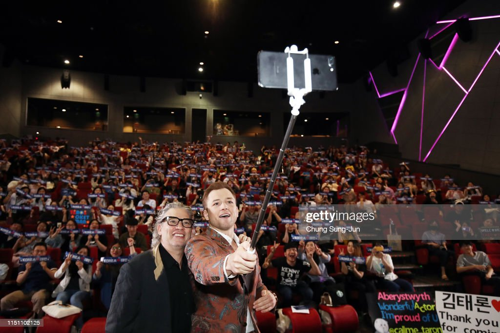 KOR: 'Rocketman' South Korea Premiere - Special Guest Visit Q&A