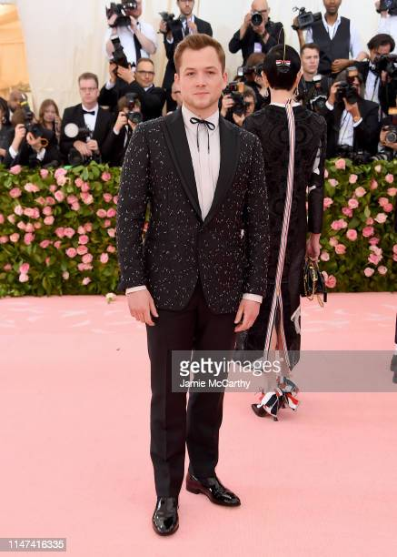 Taron Egerton attends The 2019 Met Gala Celebrating Camp Notes on Fashion at Metropolitan Museum of Art on May 06 2019 in New York City