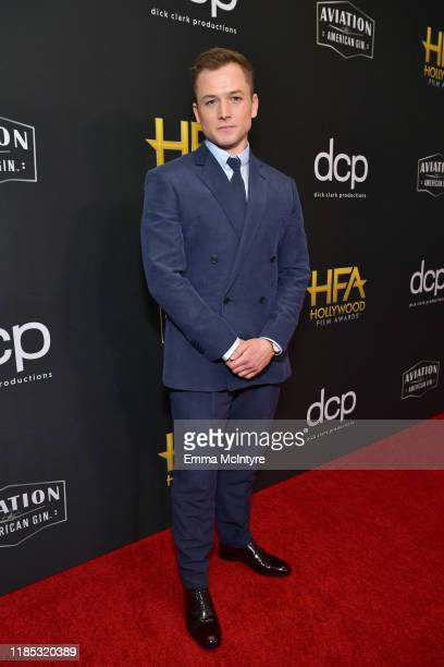 Taron Egerton attends the 23rd Annual Hollywood Film Awards at The Beverly Hilton Hotel on November 03 2019 in Beverly Hills California