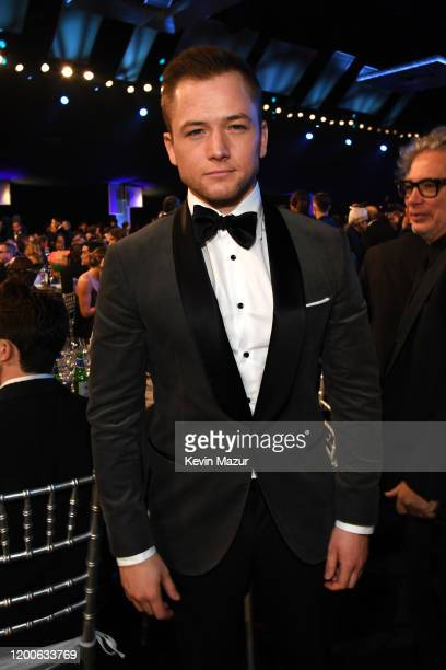 Taron Egerton attends the 26th Annual Screen ActorsGuild Awards at The Shrine Auditorium on January 19 2020 in Los Angeles California 721336