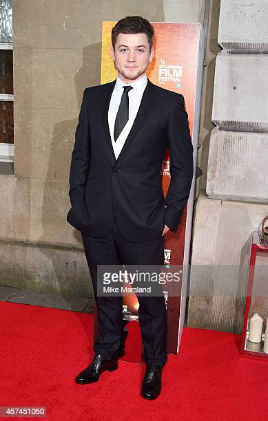 Taron Egerton attends the 58th BFI London Film Festival Awards at on October 18 2014 in London England
