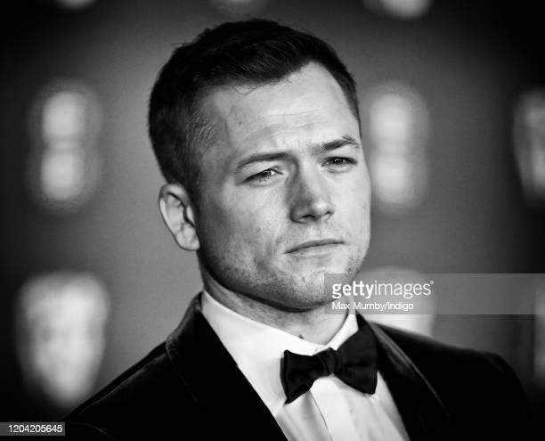 Taron Egerton attends the EE British Academy Film Awards 2020 at the Royal Albert Hall on February 2 2020 in London England