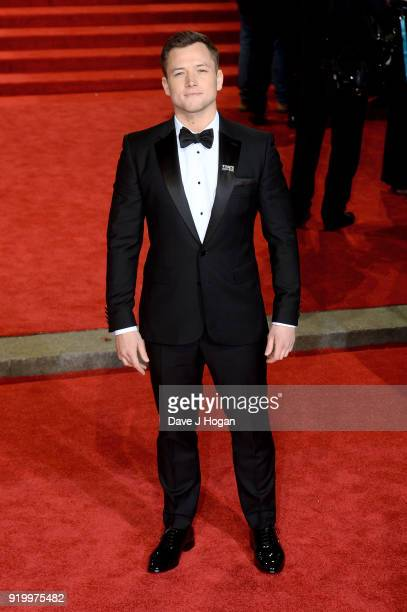Taron Egerton attends the EE British Academy Film Awards held at Royal Albert Hall on February 18 2018 in London England