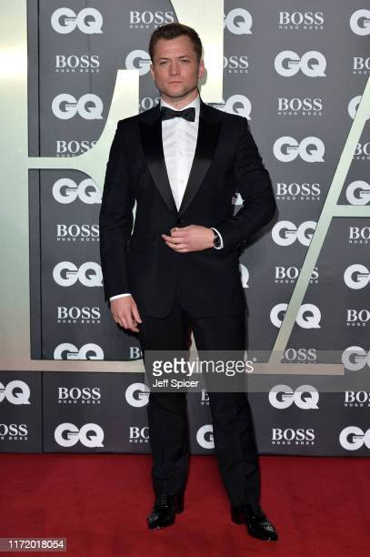 Taron Egerton attends the GQ Men Of The Year Awards 2019 at Tate Modern on September 03 2019 in London England
