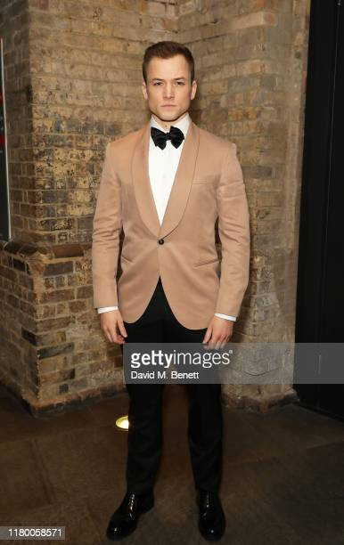 Taron Egerton attends the Virgin Atlantic Attitude Awards 2019 at The Roundhouse on October 09 2019 in London England