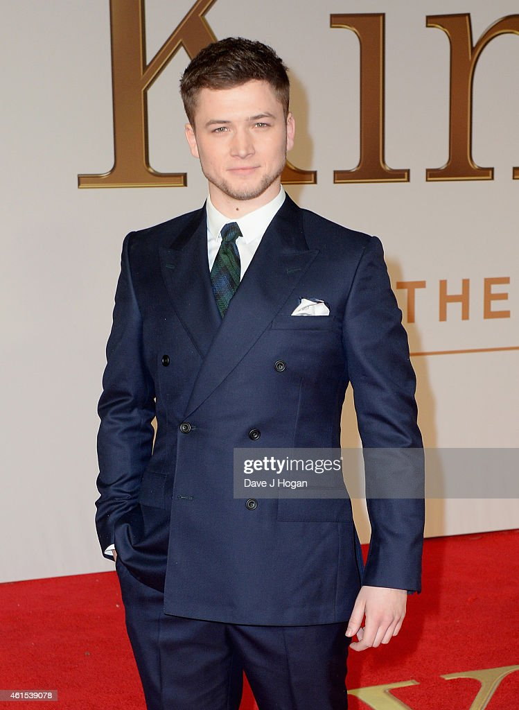 Taron Egerton attends the World Premiere of 'Kingsman: The Secret Service' at the Odeon Leicester Square on January 14, 2015 in London, England.