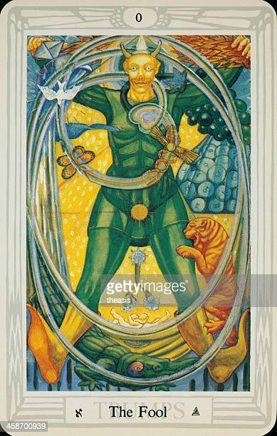 tarot card - the fool - idiots stock pictures, royalty-free photos & images