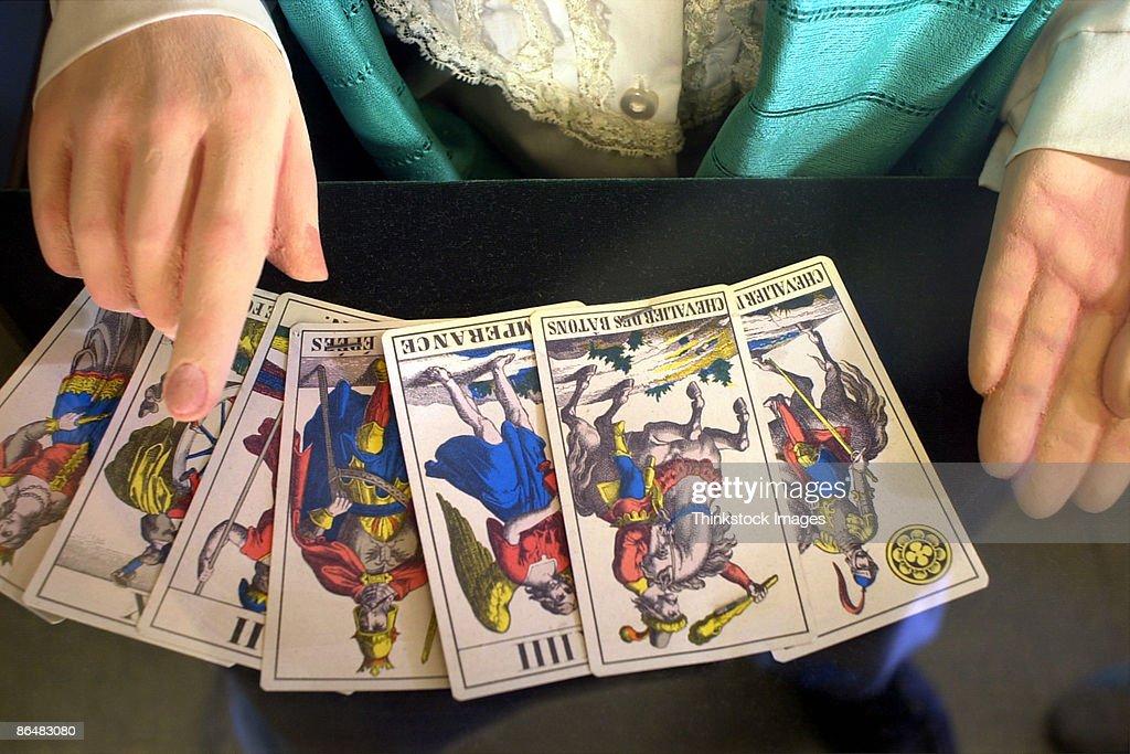 Tarot cards : Stock Photo