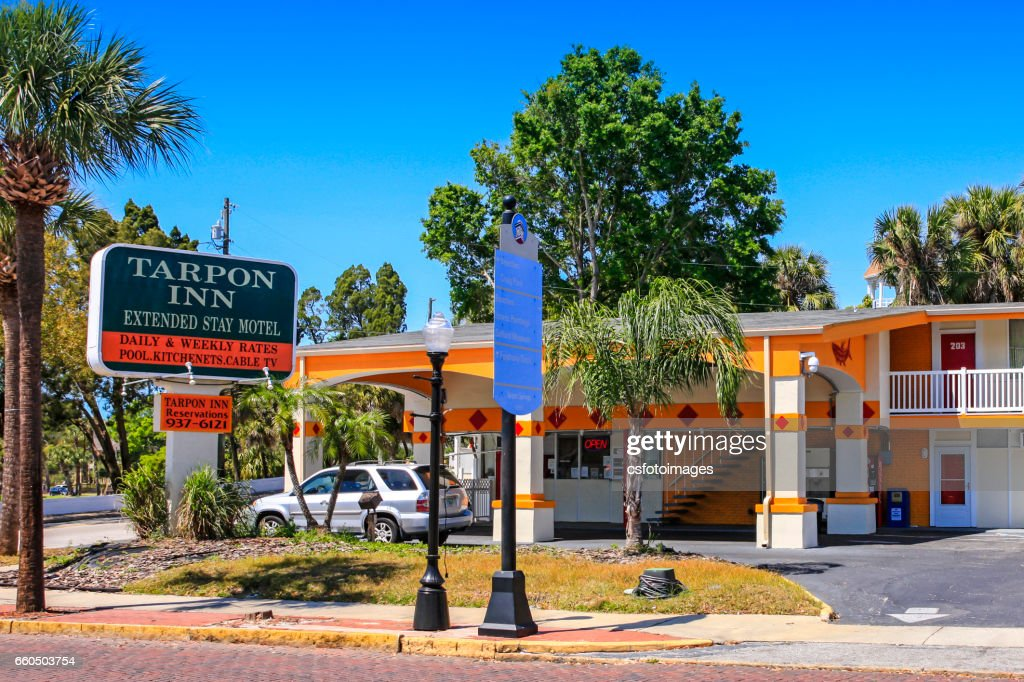 Tarpon Inn Hotel In Springs Florida Stock Photo