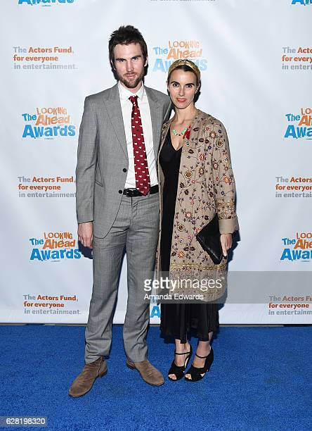 Tarquin Wilding and Naomi deLuce Wilding arrive at The Actors Fund's 2016 Looking Ahead Awards at Taglyan Complex on December 6 2016 in Los Angeles...