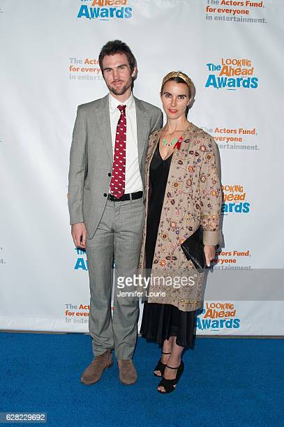 Tarquin Wilding and Naomi Wilding arrive at the Actors Fund's 2016 Looking Ahead Awards at the Taglyan Complex on December 6 2016 in Los Angeles...