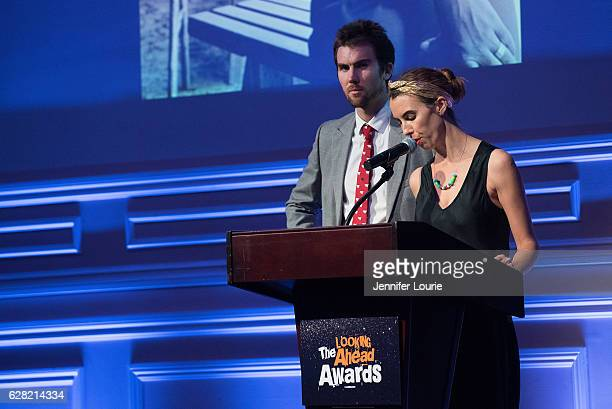 Tarquin Wilding and Naomi Wilding attend the Actors Fund's 2016 Looking Ahead Awards at the Taglyan Complex on December 6 2016 in Los Angeles...