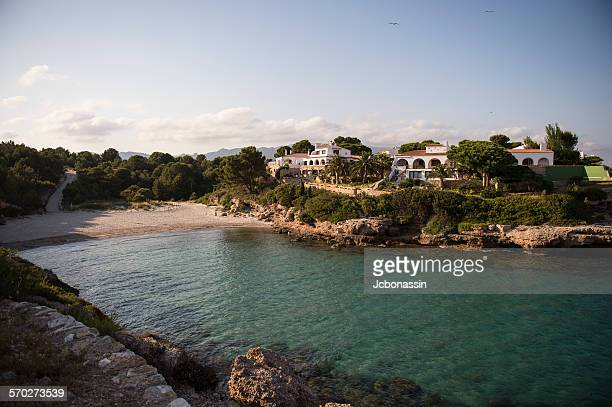 tarragona coast - jcbonassin stock pictures, royalty-free photos & images