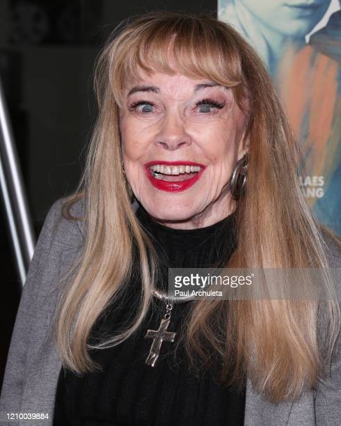 """Tarry Moore attends the LA special screening of Sony's """"The Burnt Orange Heresy"""" at Linwood Dunn Theater on March 02, 2020 in Los Angeles, California."""