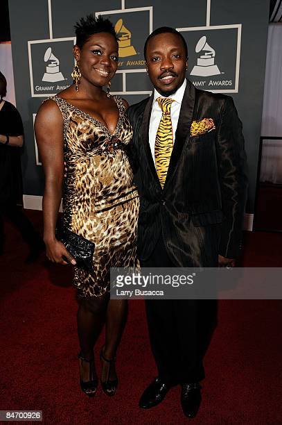 Tarsha Hamilton and Anthony Hamilton arrive at the 51st Annual Grammy Awards held at the Staples Center on February 8 2009 in Los Angeles California