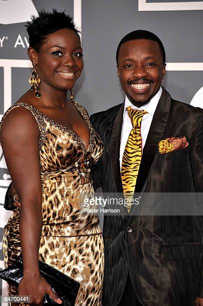 Tarsha McMillan and Anthony Hamilton arrive at the 51st Annual Grammy Awards held at the Staples Center on February 8 2009 in Los Angeles California
