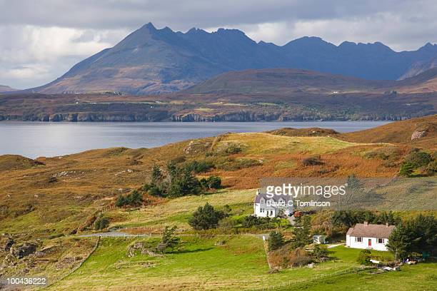 Tarskavaig and the Cuillin Hills, Skye, Scotland