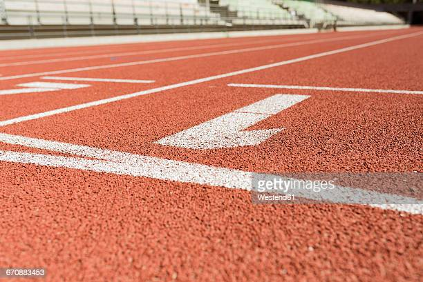 Tartan track, numbers