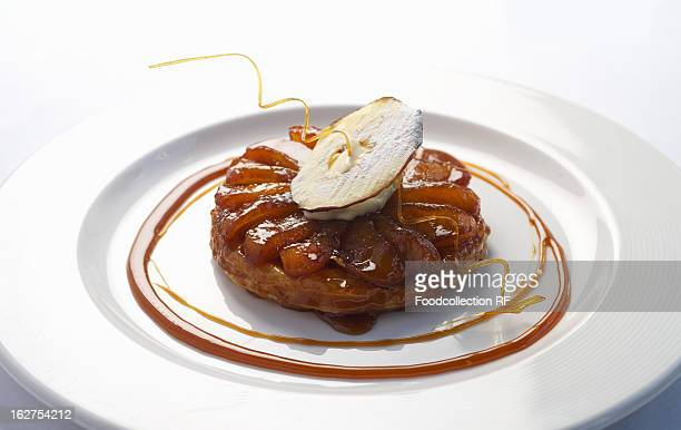 Tarte Tatin on plate