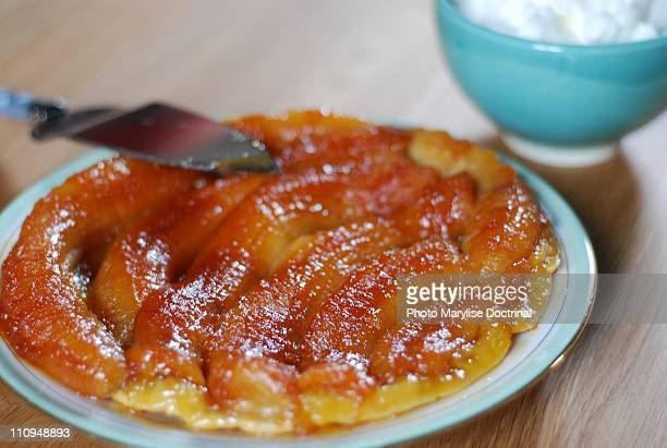 Tarte Tatin with Banana