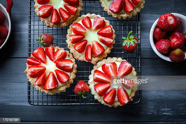 tartlets - dessert stock pictures, royalty-free photos & images