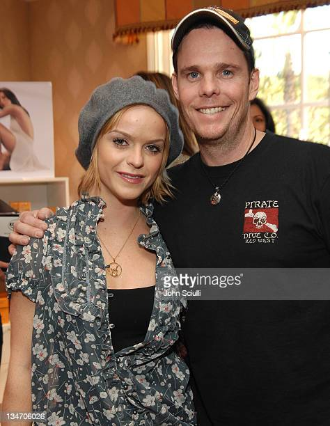 Taryn Manning and Kevin Dillon during HBO Luxury Lounge - Day 1 at Four Seasons Hotel in Beverly Hills, California, United States.