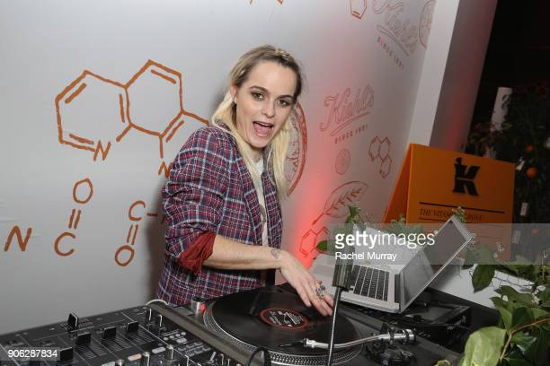 Taryn Manning at Kiehl's Turns Up the PotentC with the NEW PowerfulStrength LineReducing Concentrate on January 17 2018 in West Hollywood California