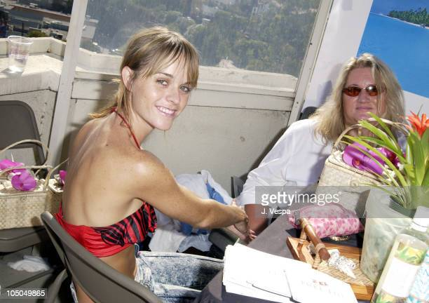 Taryn Manning at Pure Fiji during The Cabana Beauty Buffet - Day 2 at The Chateau Marmont in Los Angeles, California, United States.
