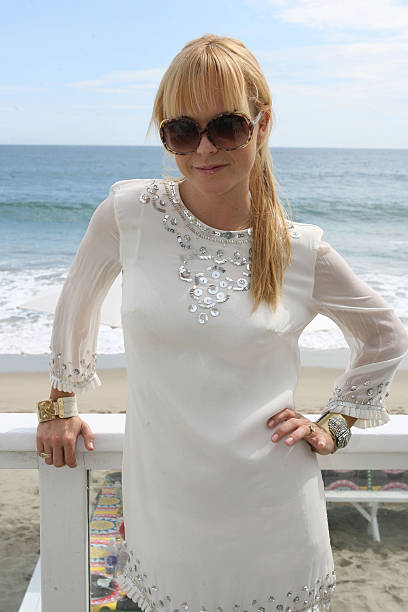 taryn manning at siri garbers bridal shower held at the french connection beach house on august