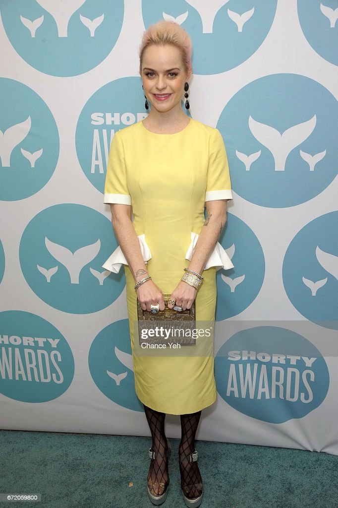 Taryn Manning attends 9th Annual Shorty Awards at PlayStation Theater on April 23, 2017 in New York City.