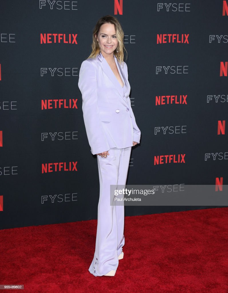 Taryn Manning attends the Netflix FYSEE Kick-Off at Netflix FYSEE At Raleigh Studios on May 6, 2018 in Los Angeles, California.