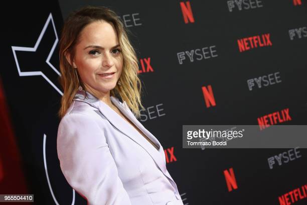 Taryn Manning attends the Netflix FYSEE Kick-Off Event at Netflix FYSEE At Raleigh Studios on May 6, 2018 in Los Angeles, California.