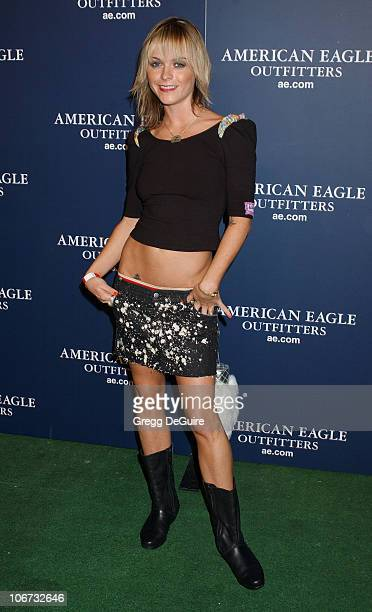Taryn Manning during American Eagle Outfitters Rocks Los Angeles with a Back To School Tailgate Party - Arrivals at Hollywood Lot in Hollywood,...