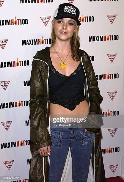Taryn Manning during Maxim Hot 100 Party Arrivals at Yamashiro in Hollywood California United States