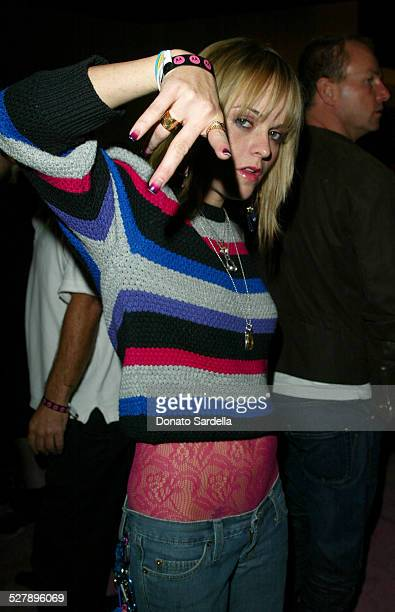 Taryn Manning during Motorola's 5th Anniversary Party Benefiting Toys for Tots Featuring Pink Inside at Conjunctive Points in Culver City California...