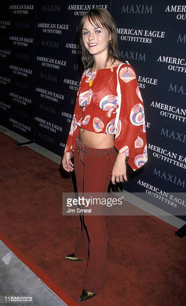 Taryn Manning during Party For Opening of LA American Eagle Outfitters Showroom at American Eagle Outfitters in West Hollywood California United...