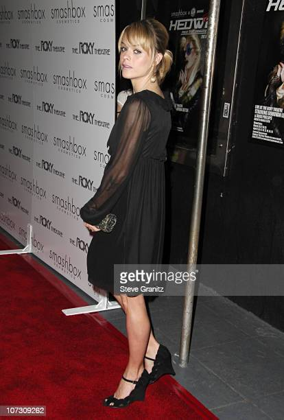 Taryn Manning during Smashbox Cosmetics and the Roxy Theater Present Hedwig And The Angry Inch Arrivals at Roxy Theatre in West Hollywood California...