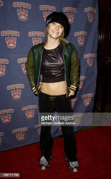 Taryn Manning during Smirnoff Ice Triple Black Hosts an 80's Roller Skating Holiday Party at the Moonlight Rollerway in Los Angeles at Moonlight...