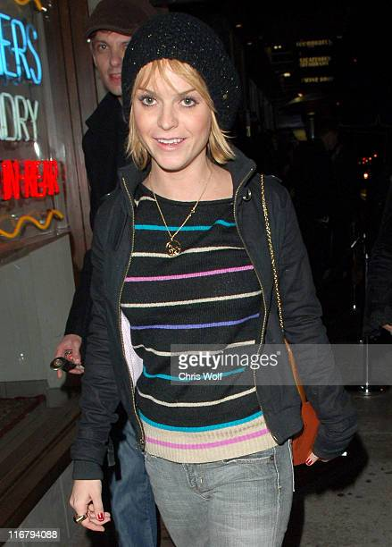 Taryn Manning during Taryn Manning and Nicole Narain Sighting in West Hollywood December 30 2006 at Hyde in West Hollywood California United States