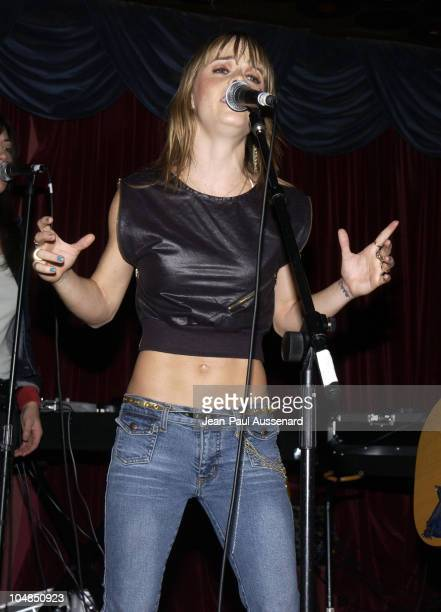 Taryn Manning during Taryn Manning's Band Boomkat in Concert - Los Angeles at The Mint in Los Angeles, California, United States.