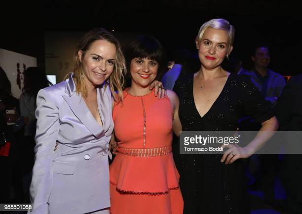Taryn Manning Rebekka Johnson and Kimmy Gatewood attend the Netflix FYSEE KickOff Event at Netflix FYSEE At Raleigh Studios on May 6 2018 in Los...