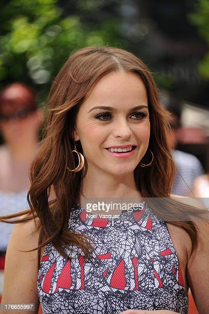Taryn Manning visits Extra at The Grove on August 16 2013 in Los Angeles California