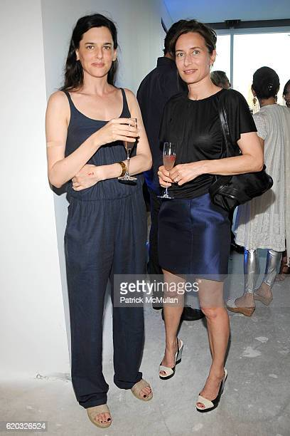 Taryn Simon and Josephine Meckseper attend Frieze Magazine Event at the new Soho Mews Penthouse serviced by Luxury Attache at Soho Mews on June 24,...