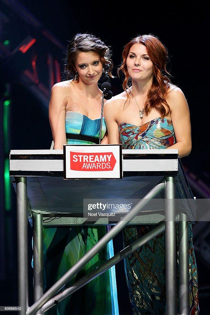 1st Annual Streamy Awards : News Photo