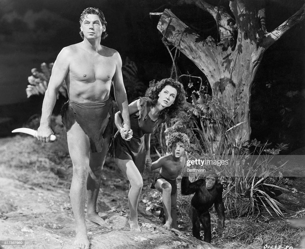 A Scene from Tarzan's New York Adventure : Nachrichtenfoto