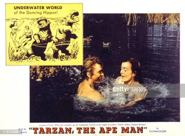 Tarzan The Ape Man poster Denny Miller Joanna Barnes 1959
