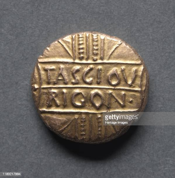 Tasciovanus Riconi Stater c 20 BC 10 AD Creator Unknown