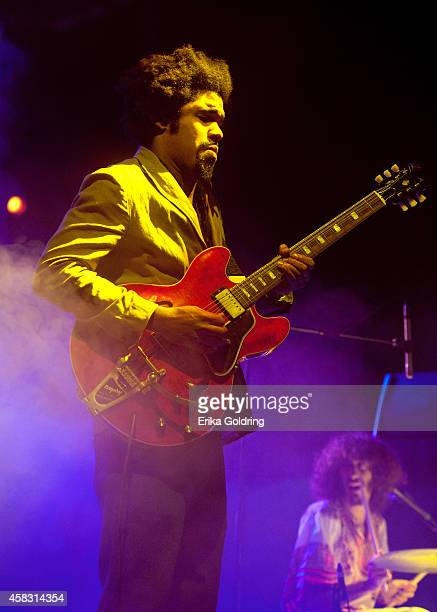 Tash Neal of The London Souls performs at New Orleans City Park on November 2 2014 in New Orleans Louisiana